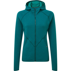 Mountain Equipment Calico Chaqueta Capucha Mujer, tasman blue